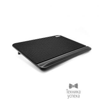 """Crown CROWN Подставка для ноутбука CMLC-1101 black (17"""") ( Два тихих кулера 160мм, размер 380*280*36мм)"""