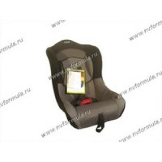 Кресло детское SIGER Тотем группа 0+1 от 0-18кг серое
