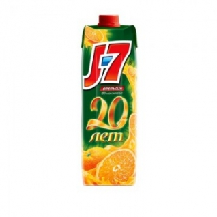 Сок J7 апельсин 0,97л