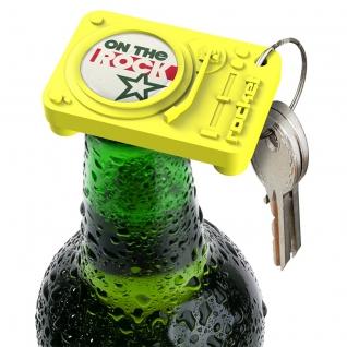 Брелок-открыватель для бутылок Act желтый