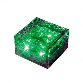 357242 NT15 182 прозрачный Ландшафтный светильник IP68 4LED зелёных 0,75W 1,2V TILE NOVOTECH