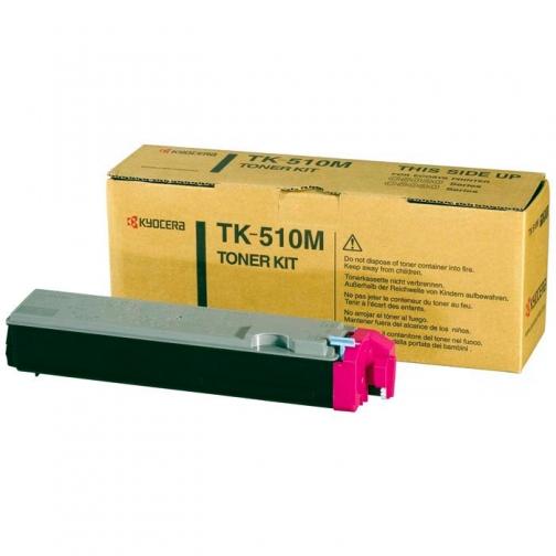 Тонер-картридж TK-510M пурпурный для Kyocera FS-C5020N, C5025, C5030N, оригинальный 1315-01 852072 1