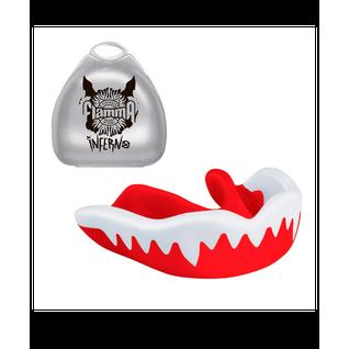 Капа Flamma Inferno Mgf-015, с футляром, красный/белый