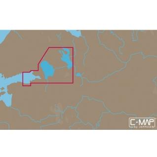 Карта C-MAP EN-N604 - Русские озера C-MAP