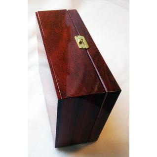 Подарочная шкатулка из красного дерева -Падук DEKOM
