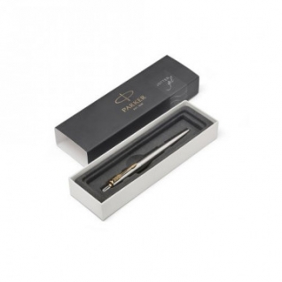 Ручка гелевая PARKER Jotter Stainless Steel GT черный 2020647