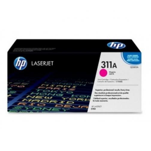 Оригинальный картридж Q2683A для HP CLJ 3700 (пурпурный, 6000 стр.) 881-01 Hewlett-Packard 852430 1