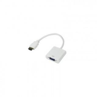 Переходник шт.HDMI - гн.VGA (провод)