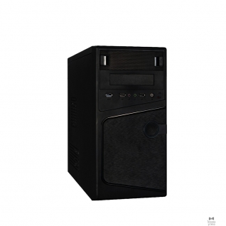EXEGATE Exegate EX271408RUS Корпус Minitower Exegate BA-121U Black, mATX <AA450, 80mm> 2*USB2.0+1*USB3.0, Audio