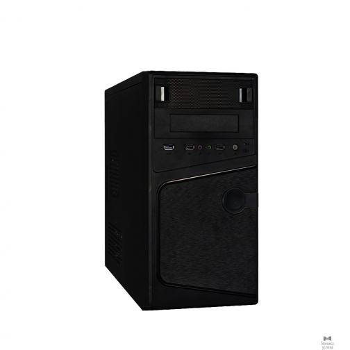 EXEGATE Exegate EX271408RUS Корпус Minitower Exegate BA-121U Black, mATX <AA450, 80mm> 2*USB2.0+1*USB3.0, Audio 36969553