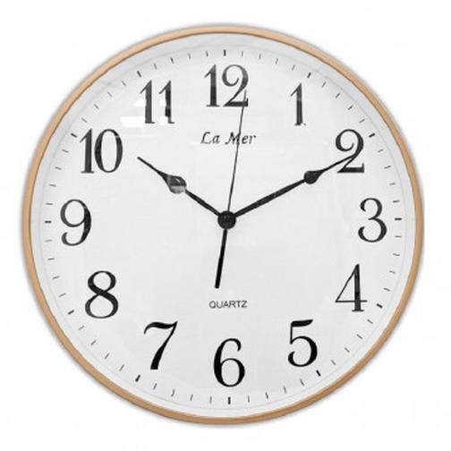 Часы настенные пластик 350x350x46 GD353-1 40112520