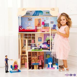 """Кукольный домик """"Грация"""" (с мебелью)"""