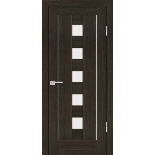 Дверное полотно Profilo Porte PS-34 Цвет Дуб перламутровый, Мокко, Белый сатинат 6647526