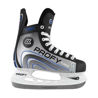 Хоккейные коньки СК (Спортивная Коллекция) (спортивная коллекция) Profy 1000, синий размер 33