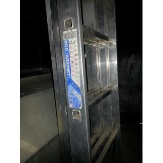 Трехсекционная алюминиевая лестница Алюмет 3х12