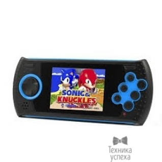 "Sega SEGA Genesis Gopher Wireless LCD 2.8"", ИК-порт +20 игр (синяя)"