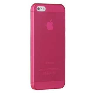 Чехол на заднюю крышку Ozaki O!Coat 0.3 Jelly для iPhone 5/5S/SE, цвет Red (OC533RD)