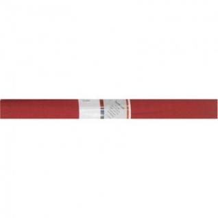 Бумага для творчества креповая WEROLA, 50см*250см 32г/м рубиновая, 12061-13