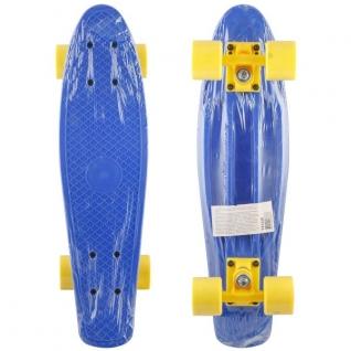 Скейтборд для детей, синий Shenzhen Toys