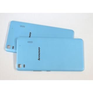Задняя крышка для Lenovo K3 Note A7000 k50-t5 (голубой)