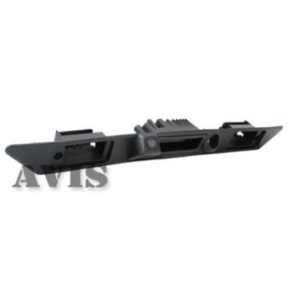 CCD штатная камера заднего вида AVIS AVS321CPR для AUDI A3/A6/A8/Q7, интегрированная с ручкой багажника и планкой (#005) Avis