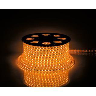 Cветодиодная LED лента Feron LS704, 60SMD(2835)/м 4.4Вт/м 100м IP65 220V желтый