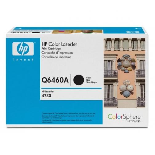 Оригинальный картридж HP Q6460A для HP CLJ 4730, 4700 (черный, 12000 стр.) 894-01 Hewlett-Packard 852417 1