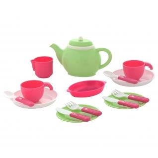 Набор детской посуды на 2 персоны (16 элементов) (в сеточке) Полесье