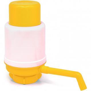 Помпа водяная ручная Aqua work DOLPHIN ЕСО, желтая в пакете
