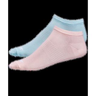 Носки низкие Starfit Sw-205, персиковый/светло-бирюзовый, 2 пары размер 35-38