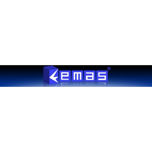 Кнопка круглая без фиксации зеленая (1 НО) B100DY Emas 900850 1