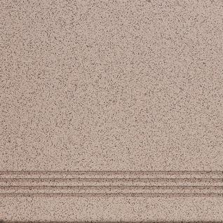 ЭСТИМА СТ-02 Ступень керамогранит матовый 300х300мм светло-бежевый (17шт=1,53м2) / ESTIMA ST-02 Ступени керамогранит неполированный 300х300х8мм светло-бежевый (упак. 17шт.=1,53 кв.м.)