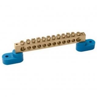 Шина нулевая IEK 6х9 8У2-С на 2 угловых изоляторах