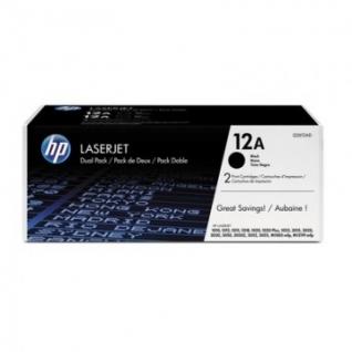 Картридж лазерный HP 12A Q2612AF чер. для LJ 1010 (2шт/уп)