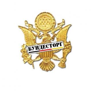 Знак Schirmmuetze US Army золото