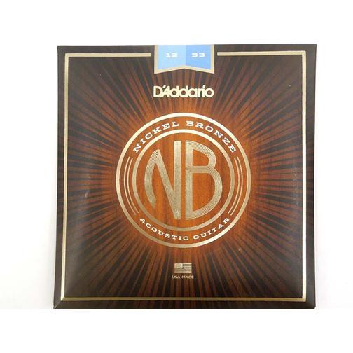 Струны для акустической гитары D'ADDARIO NB1253 Nikel Bronze 12-53 36980501