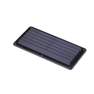 Maritim Решетка вентиляционная из черной пластмассы 27390 100 x 200 мм