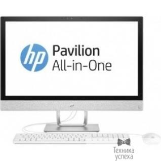 "Hp HP Pavilion 24-r025ur 2MJ50EA blizzard white 23.8"" FHD TS i7-7700T/12Gb/2Tb+16Gb SSD/AMD530 2Gb/DVDRW/W10/k+m"