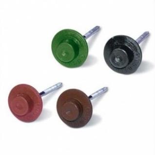Гвоздь кровельный для Ондулина коричневый 100шт/уп /3,55х75 мм/