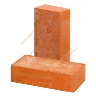 Кирпич строительный полнотелый М-150 красный (500шт) / Кирпич строительный полнотелый М-150 красный (пал. 500шт.)