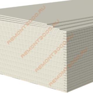 КНАУФ ГКЛ Гипсокартон арочный 2500х1200х6,5мм (3,0м2) / KNAUF ГКЛ Гипсокартонный лист арочный реставрационный 2500х1200х6,5мм (3,0 кв.м.)