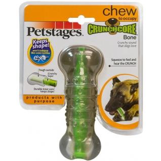 """Petstages Petstages игрушка для собак """"Хрустящая косточка"""" резиновая средняя"""