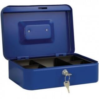 Кэшбокс ONIX МВ-3, ключ, синий, 250х180х90
