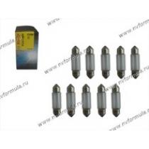 Лампа 12V5W SV8.5-8 35мм BOSCH 211