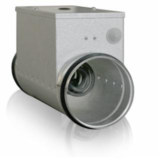 Электрический нагреватель для круглых каналов CEH 100-0,3-1f