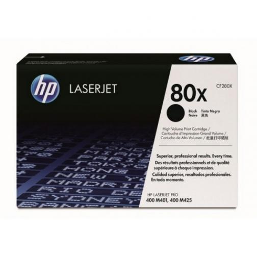 Картридж CF280X №80X для HP LJ Pro 400 M401, Pro 400 M425dn (черный, 6900 стр.) 4429-01 Hewlett-Packard 851900 1