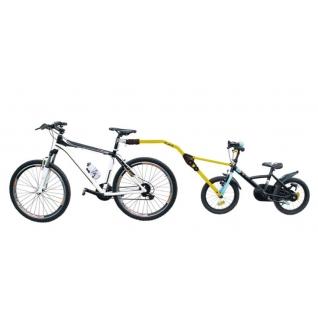 Прицепное устройство PERUZZO Trail Angel детского велосипеда к взрослому желтое Peruzzo