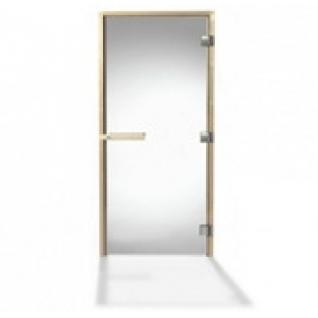 Дверь для сауны Tylo DGB 8x19 (прозрачная, сосна, арт. 91031515) без порога