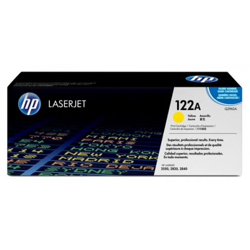 Оригинальный картридж Q3962A для HP CLJ 2500, 2550 (желтый, 4000 стр.) 884-01 Hewlett-Packard 852427 1