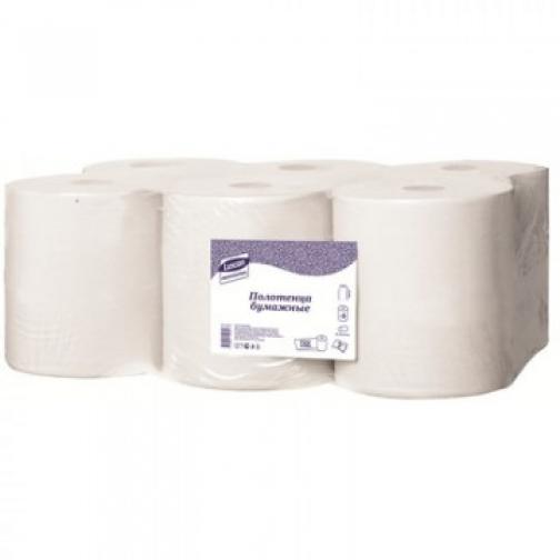 Полотенца бумажные д/дисп. Luscan Professional2слбелцел150м6рул/уп 37872244